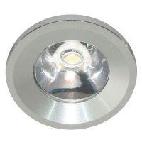 Светильник светодиодный Feron G770 1 Вт 6400 K серебро