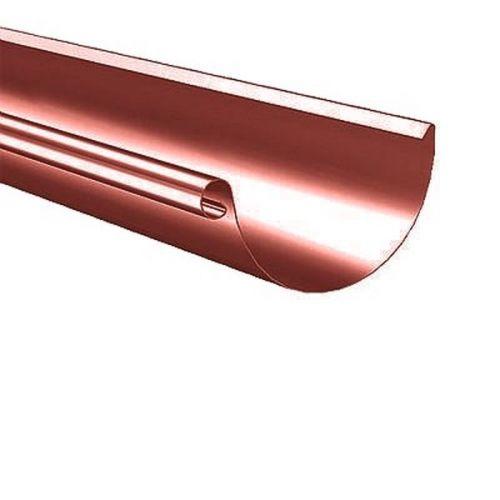 Желоб водосточный Lindab R D125/87х3000 мм 758 красный