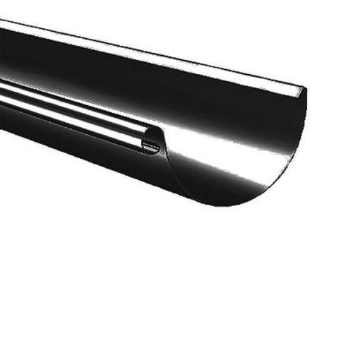 Желоб водосточный Lindab R D125/87х3000 мм 015 черный