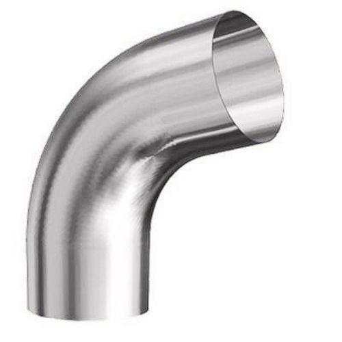 Колено трубы Lindab BK70 D125/87 мм угол 70 градусов 045 серебристый металлик