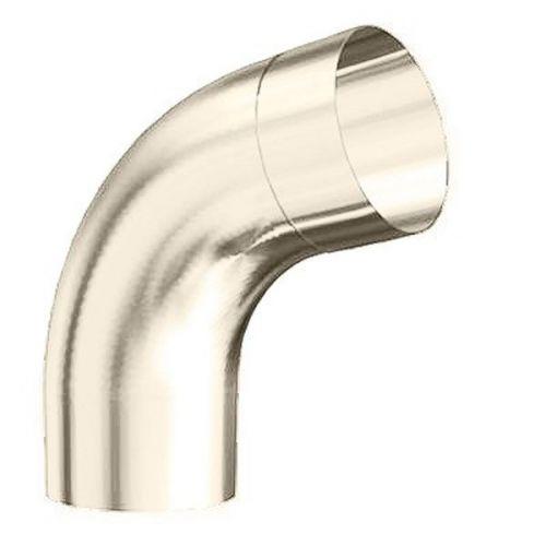 Колено трубы Lindab BM70 D125/87 мм угол 70 градусов с соединителем 001 белое