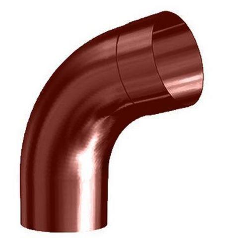 Колено трубы Lindab BM70 D125/87 мм угол 70 градусов с соединителем 758 красное