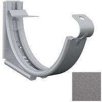 Кронштейн желоба Lindab SSK D125/87 мм регулируемый 044 графитовый металлик