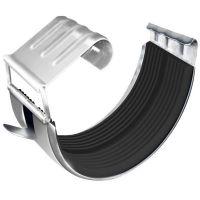 Соединитель желоба Grand Line D125/90 мм с резиновым уплотнителем RAL 9003 белый