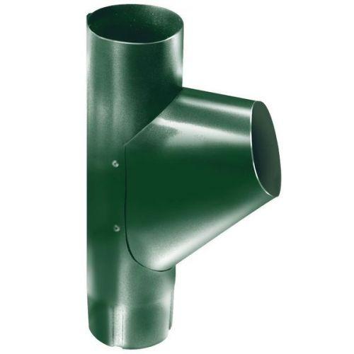 Тройник трубы Grand Line D125/90 мм RAL 6005 зеленый