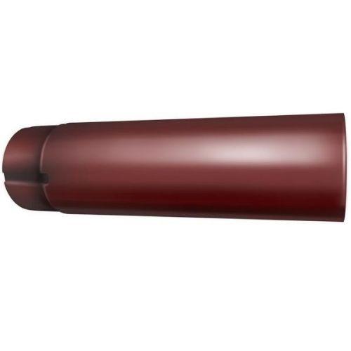 Труба водосточная Grand Line D125/90х3000 мм RR 29 красная