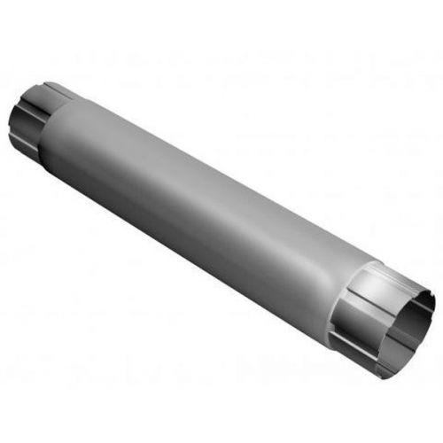 Труба соединительная Grand Line D125/90х1000 мм RAL 9003 белая