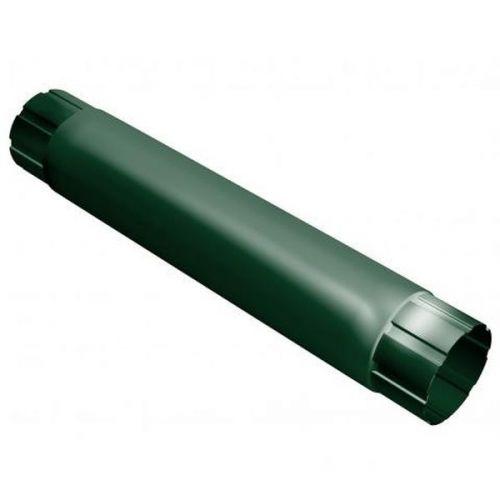 Труба соединительная Grand Line D125/90х1000 мм RAL 6005 зеленая