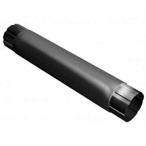 Труба соединительная Grand Line D125/90х1000 мм RAL 9005 черная