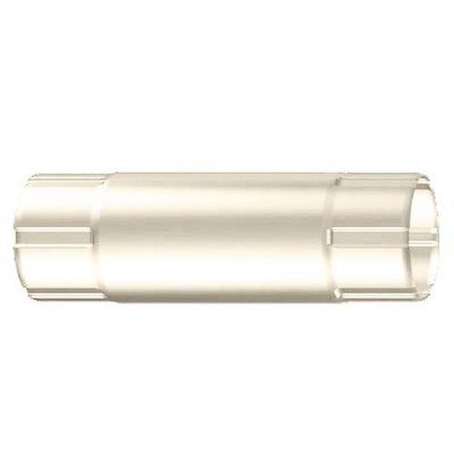 Труба соединительная Lindab MST D125/87х1000 мм 001 белая