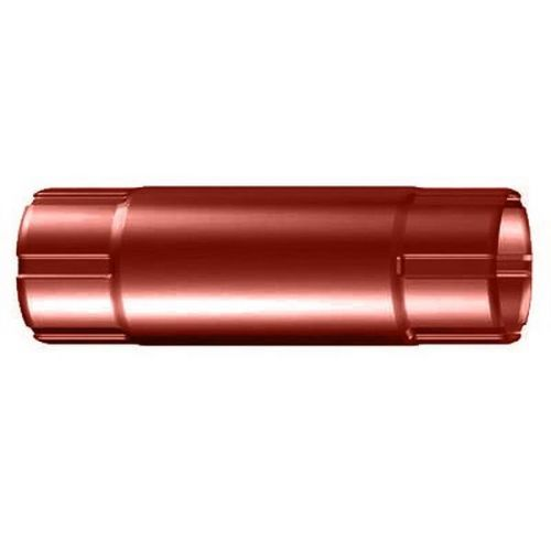 Труба соединительная Lindab MST D125/87х1000 мм 742 кирпичная