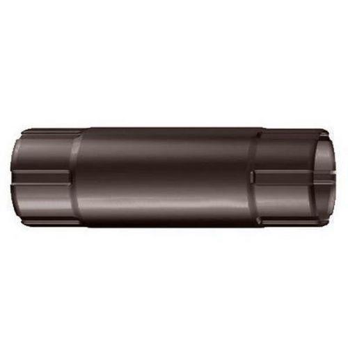 Труба соединительная Lindab MST D125/87х1000 мм 758 коричневая