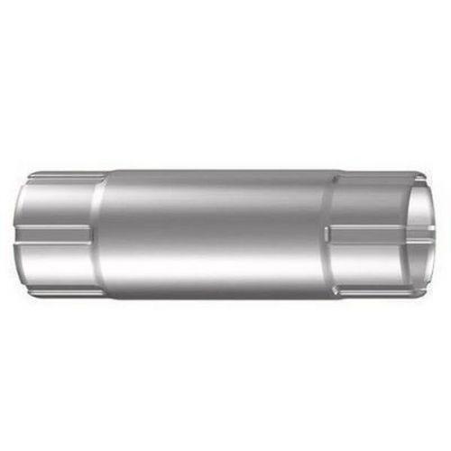 Труба соединительная Lindab MST D125/87х1000 мм 045 серебристый металлик