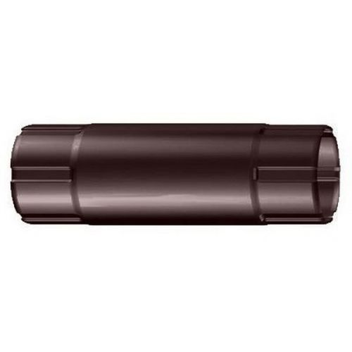 Труба соединительная Lindab MST D125/87х1000 мм 387 темно-коричневая