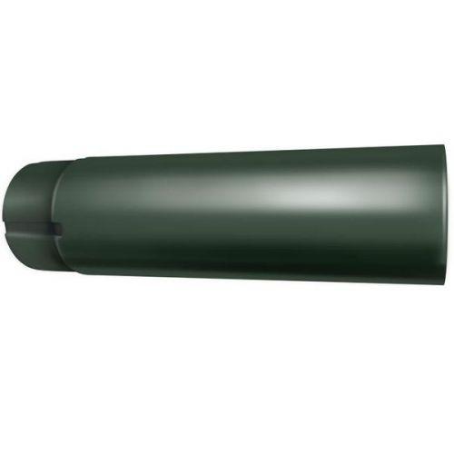 Труба водосточная Grand Line D125/90х3000 мм RR 11 темно- зеленая