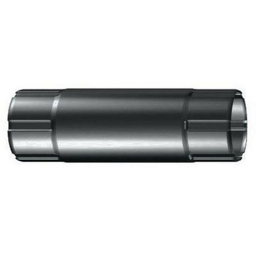 Труба соединительная Lindab MST D125/87х1000 мм 087 темно-серая