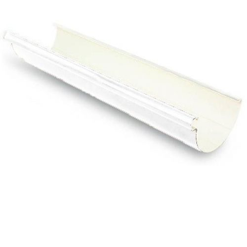 Желоб водосточный Galeco ПВХ D124/80х4000 мм RAL 9010 белый