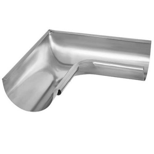 Угол желоба Aquasystem D125/90 мм внутренний 90 градусов цинк