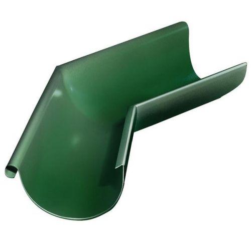 Угол желоба Grand Line D125/90 мм внешний 135 градусов RAL 6005 зеленый