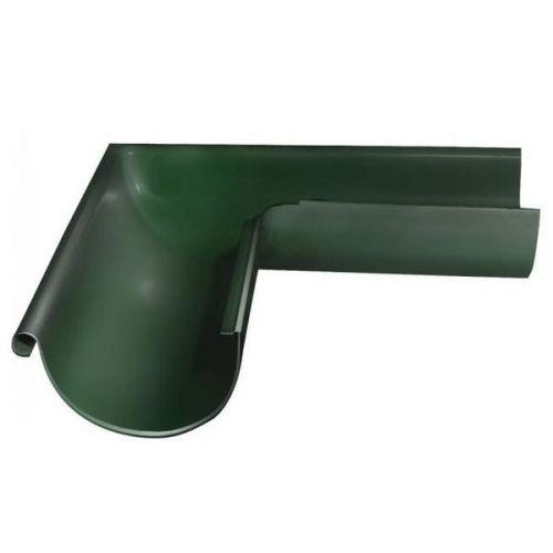 Угол желоба Grand Line D125/90 мм внешний 90 градусов RR 11 темно-зеленый