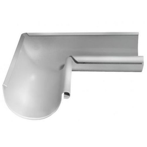 Угол желоба Grand Line D125/90 мм внутренний 90 градусов RAL 9003 белый