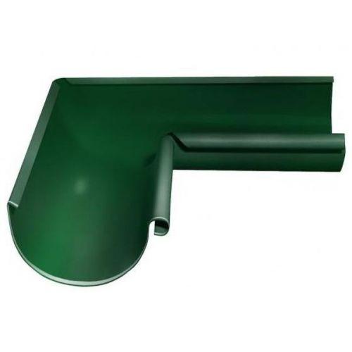 Угол желоба Grand Line D125/90 мм внутренний 90 градусов RAL 6005 зеленый