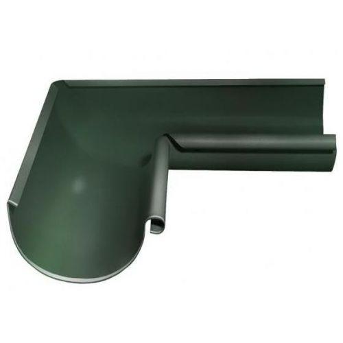 Угол желоба Grand Line D125/90 мм внутренний 90 градусов RR 11 темно-зеленый