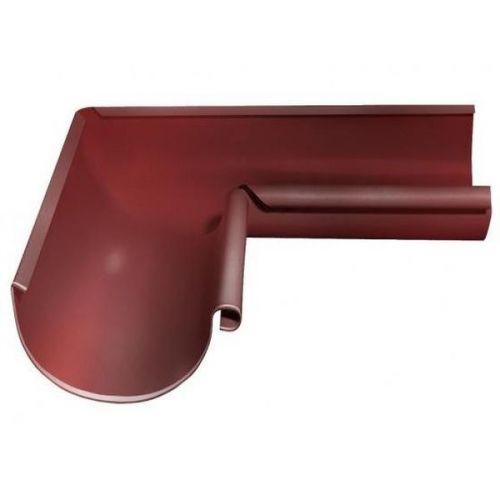 Угол желоба Grand Line D125/90 мм внутренний 90 градусов RAL RR 29 красный