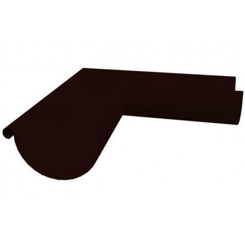 Угол желоба Grand Line D150/100 мм внутренний 90 градусов RAL 32 коричневый