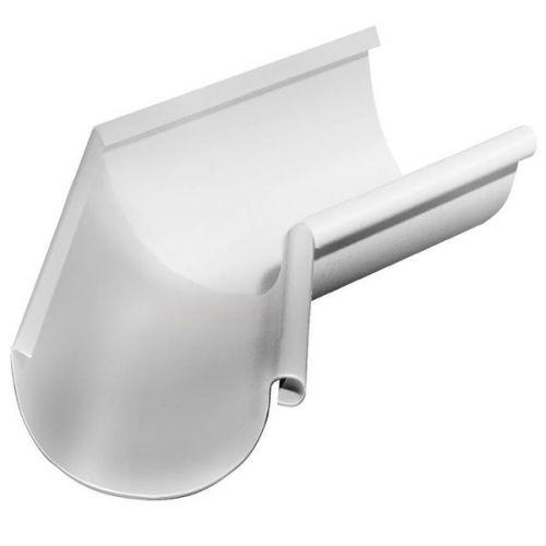 Угол желоба Grand Line D125/90 мм внутренний 135 градусов RAL 9003 белый