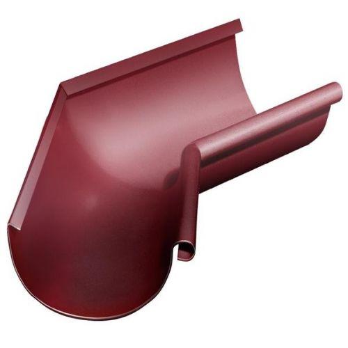 Угол желоба Grand Line D125/90 мм внутренний 135 градусов RAL 3005 красный