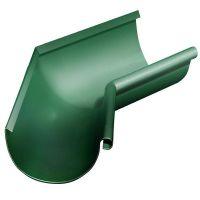 Угол желоба Grand Line D125/90 мм внутренний 135 градусов RAL 6005 зеленый