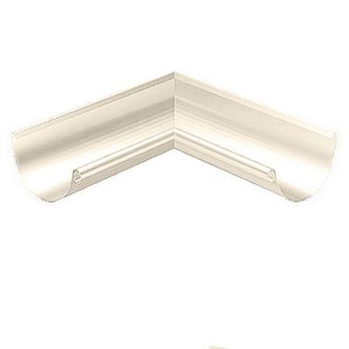 Угол желоба Lindab RVI D125/87 мм внутренний 90 градусов 001 белый