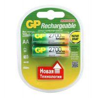 Батарейка аккумуляторная GP Batteries 270AAHC AA 2650 мАч 2 шт.
