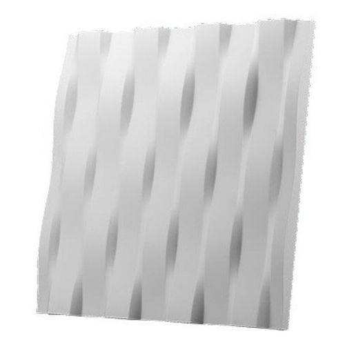 Дизайнерская 3D панель из гипса Artgypspanel Бриз 500х500 мм