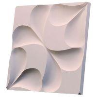 Дизайнерская 3D панель из гипса Artgypspanel Серпа 500х500 мм