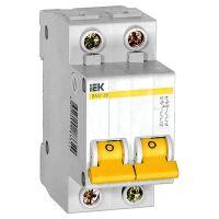 Автоматический выключатель IEK ВА47-29 2Р 2А С