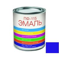 Эмаль ПФ-115 Colorist 0,9кг синяя