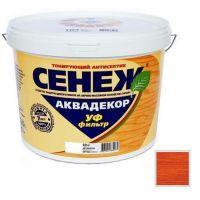 Антисептик тонирующий Сенеж Аквадекор 111 Тик 0,9 кг