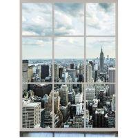 Фотообои виниловые на флизелиновой основе Decocode Панорама Манхэттена 21-0018-WL 2х2.8 м