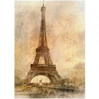 Фотообои виниловые на флизелиновой основе Decocode Романтика Парижа 21-0081-KE 2х2,8 м