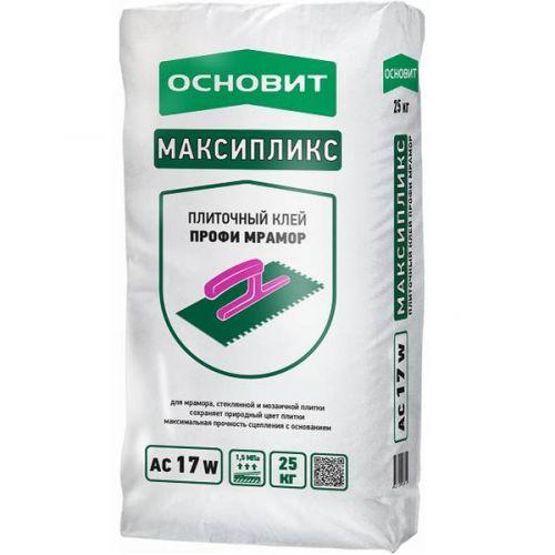 Клей для плитки Основит Максипликс АС17 W 25 кг