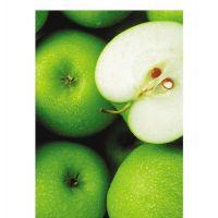 Фотообои виниловые на флизелиновой основе Decocode Яблочный микс 21-0056-UW 2х2,8 м