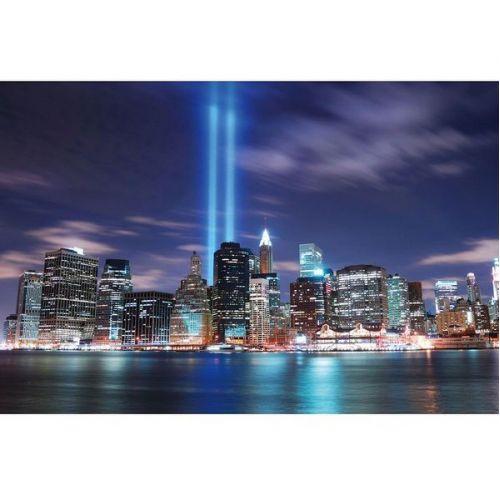 Фотообои виниловые на флизелиновой основе Decocode Панорама Нью-Йорка 13-0283-WV 2,5х1,3 м