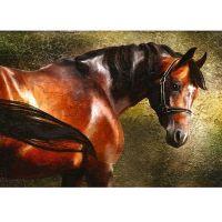 Фотообои виниловые на флизелиновой основе Decocode Рыжий конь 41-0074-NE 4х2,8 м