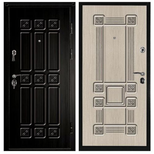 Дверь входная металлическая Промет С4 Сенатор S Черный Муар 980x2060 мм правая Vinorit