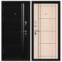 Дверь входная металлическая Промет С4 Гранит Черный Муар 980x2066 мм левая