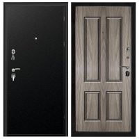 Дверь входная металлическая Промет ПР2 Соломон Черный Муар 980x2066 мм левая