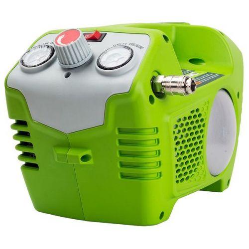 Компрессор аккумуляторный Greenworks G40AC 40V без АКБ и ЗУ