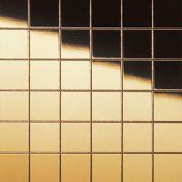 Стеновая панель Sibu Multistyle Gold Classic 20x20 980х980 мм самоклеящаяся